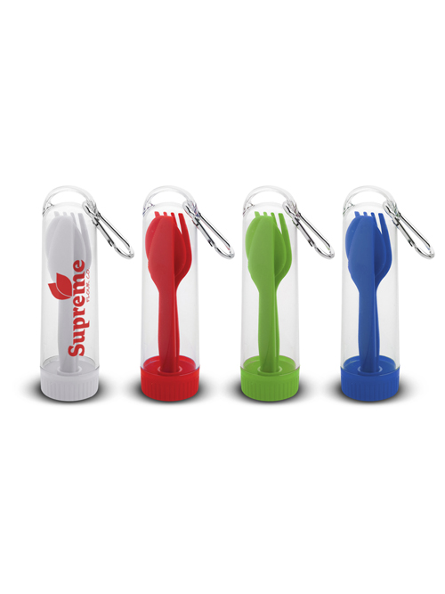 Carabiner Utensil Set