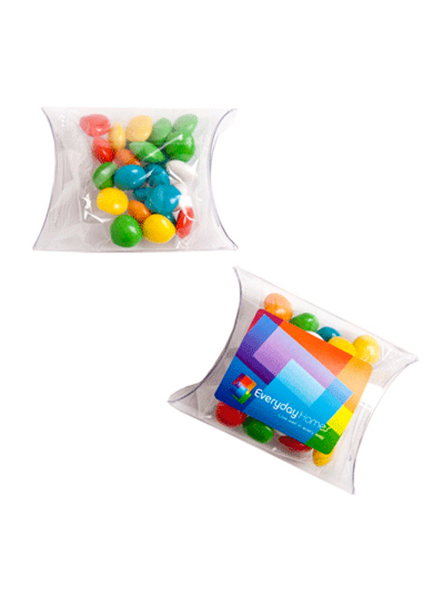 Chewy Fruits (Skittle Look Alike) in PVC Pillow Pack 25G