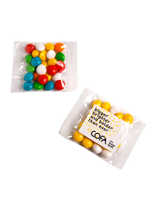 Chewy Fruits (Skittle Look Alike) Bags 25G
