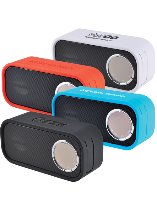 Boomer Bluetooth Speaker with FM Radio and Hands Free