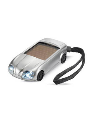 Car shape solar torch