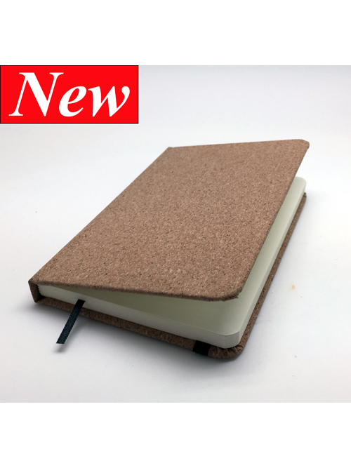 Cork Soft Wood Note Book