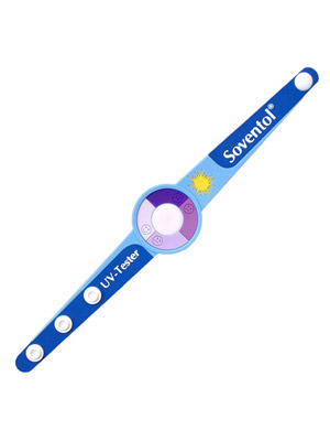 UV Exposure Wristband