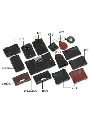 Top Grain Leather 12 Hook Key Case